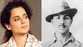 भगत सिंह की याद मेंकंगनाने किया ये ट्वीट, लता मंगेशकर को भी दी जन्मदिन की बधाई