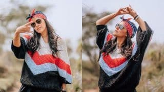 Thinking How to Slay in Oversized Clothes? Check Out Neha Dhupia's Glam Pics in Flowy Silhouettes