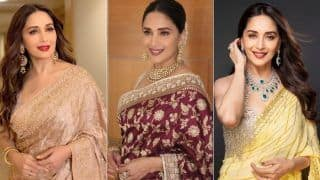 Madhuri Dixit's Mesmerizing Pictures Are Enough to Teach You How to Accessorise Your Sarees to Look Ethereal