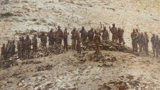 Ladakh Standoff: Indian Army Releases Unseen Pictures of Chinese Soldiers With Spears, Rifles at LAC