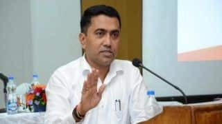 Goa CM Pramod Sawant Tests Positive for COVID-19, To Remain Under Home Isolation