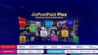 Reliance Jio Postpaid Plans – Announces Postpaid Plus Tariff Plans Starting at Rs399 and OTT Plans