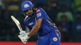 IPL 2020, KKR vs MI: Rohit Sharma Becomes Fourth Cricketer to Hit 200 Sixes in Tournament's History