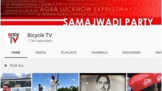 Mission 2022: Samajwadi Party Launches YouTube Channel Called 'Bicycle TV' to Expand Reach