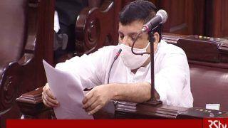 यूपी में AAP सांसद पर राजद्रोह का केस, संजय सिंह बोले- हम देशद्रोही हैं तो जेल में डाल दिया जाए