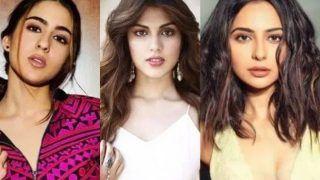 SSR Case-Drugs Angle: Sara Ali Khan, Rakul Preet Not Named, NCB Confirms no Celebrity Involvement so Far