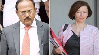 NSA Ajit Doval Holds Talks With French Defence Minister Florence Parly to Boost Security Cooperation