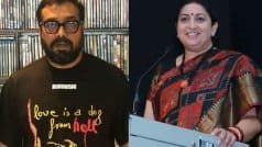 Smriti Irani Reacts to #MeToo Battle Between Anurag Kashyap And Payal Ghosh, Read on