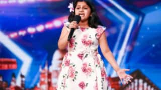 10-Year-Old Indian Girl Makes it to Semi-Finals of 'Britain's Got Talent', Wows Judges With Her Impressive Singing | Watch