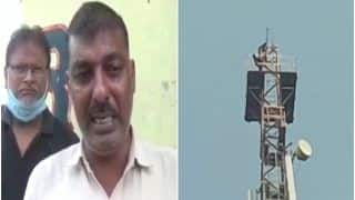 UP Man Climbs Mobile Tower After Quarrel With His Wife, Persuaded by Police to Come Down