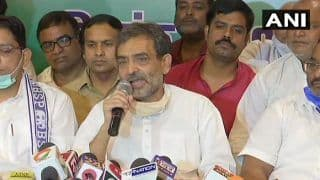 Bihar Assembly Elections: Lalu-Nitish Two Sides of Same Coin, Says RLSP Chief Upendra Kushwaha
