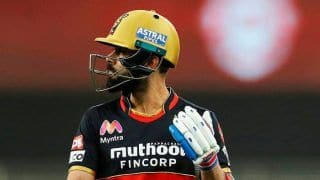 IPL 2020: RCB Captain Virat Kohli Fined Rs 12 Lakh For His Team's Slow Over-Rate