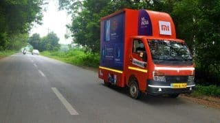 Xiaomi India Launches 'Mi Store on Wheels' – The Sale of Smart Tv's, Smartphones, and CCTV Cameras