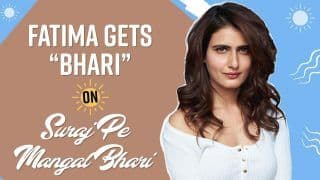 Fatima Sana Shaikh Talks About Her First Ever Romantic Role in Suraj Pe Mangal Bhari