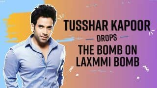 This is How Tusshar Kapoor Deals With Demands to Boycott Laxmmi Bomb -Watch