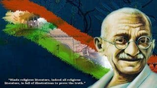 Gandhi Jayanti 2020: History And Significance of The Day