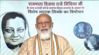 PM Modi Releases Rs 100 Coin in Honour of Vijaya Raje Scindia, Know All About The Jana Sangh Stalwart