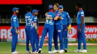 DC vs RR 2020, IPL Match Report: Anrich Nortje, Shikhar Dhawan Star as Delhi Capitals Beat Rajasthan Royals by 13 Runs to Take Top Spot in Points Table