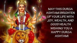 Happy Durga Ashtami 2020 Wishes: दुर्गा अष्‍टमी पर भेजें ये SMS, WhatsApp Messages, Images, Quotes