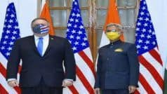India-US 2+2 Dialogue: Landmark Defence Pact BECA Signed, Pompeo Calls China a 'Threat' to Regional Security | Key Points