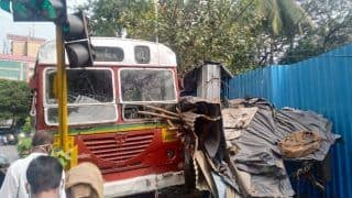 Mumbai: BEST Driver Suffers Heart Attack Behind Wheel, Rams Into Vegetable Shop