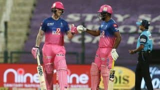 IPL 2020 Report: Stokes Slams Hundred as Rajasthan Beat Mumbai to Keep Playoff Hopes Alive