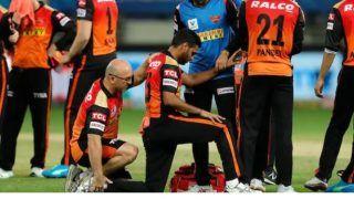 SRH को बड़ा झटका, भुवनेश्वर कुमार जांघ की चोट के चलते पूरे सीजन से बाहर