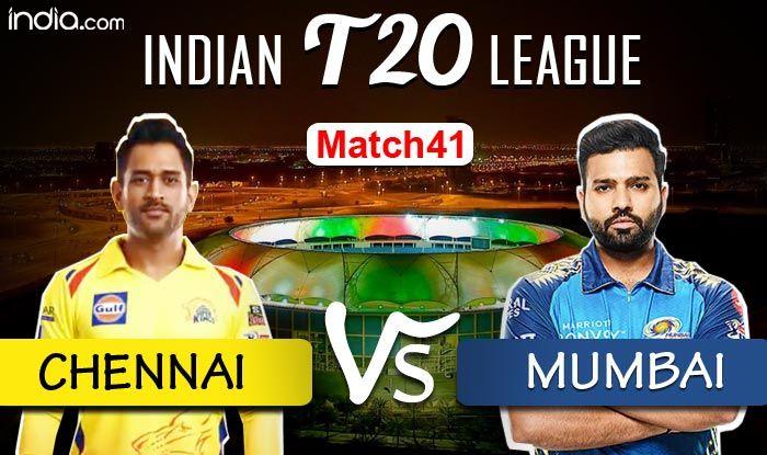 HIGHLIGHTS | IPL 2020, Match 41: Kishan, de Kock Star Mumbai Thrash Chennai by 10 Wickets