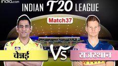 HIGHLIGHTS, CSK vs RR: जोस बटलर के अर्धशतक से राजस्थान की जीत, प्राप्त किए दो अंक