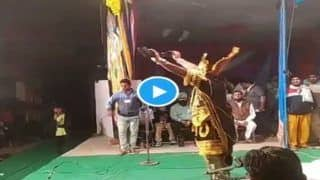 Viral Video: पंजाबी गाने पर रावण का धांसू भांगड़ा, देखकर नाच उठेंगे आप...