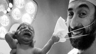 उम्मीद: पैदा होते ही बच्चे ने हटाया डॉक्टर के चेहरे से मास्क, लोग बोले- अब जाएगा कोरोना, फोटो Viral