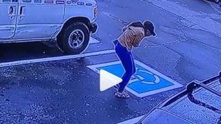Viral Video: नौकरी मिलने पर कंपनी के बाहर निकल लड़की करने लगी डांस, खुफिया कैमरे में कैद वीडियो