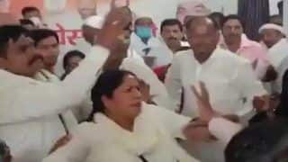 Woman Congress Worker Thrashed For Protesting Against Candidature of 'Rape Accused' in UP Bypolls
