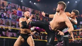 WWE NXT Results: Pat McAfee Conspires With Burch & Lorcan to Help Them Become Tag Team Champions