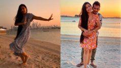 'लैला' बनीं युजवेंद्र चहल की मंगेतर धनाश्री वर्मा, UAE में समुद्र किनारे लगा रही हैं ठुमके