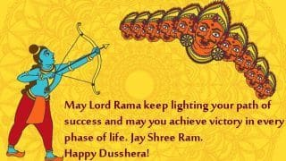 Dussehra 2020: Wishes, Quotes, Messages And WhatsApp Forwards to Celebrate Vijayadashami