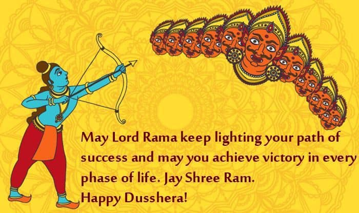 Dussehra 2020 Wishes Quotes Messages And Whatsapp Forwards To Celebrate Vijayadashami