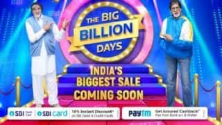 Flipkart, Paytm Offer Instant Cashback During 'Big Billion Days'