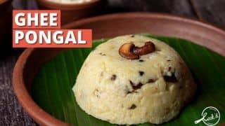 Ghee Pongal Recipe: Try This Healthy South Indian Breakfast Recipe at Home
