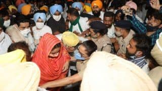 Harsimrat Kaur Badal Taken Into Custody On Way to Chandigarh During Protest Against New Farm Laws