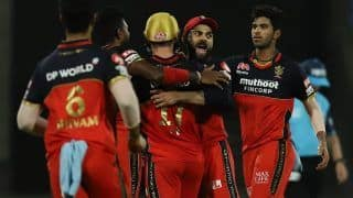IPL 2020 Updated Points Table After RCB vs KKR, Match 28 Sharjah: Bangalore Move to No 3; KL Rahul, Kagiso Rabada Retain Orange, Purple Cap Respectively