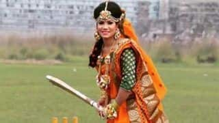 Bangladesh Cricketer Sanjida Islam's Unique Wedding Photoshoot Goes Viral | PICS