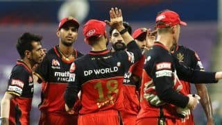 IPL 2020 Updates Points Table After KKR vs RCB, Match 39 in Abu Dhabi: Bangalore Move to No 2; KL Rahul, Kagiso Rabada Retain Orange, Purple Cap Respectively