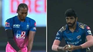 IPL 2020, RR vs MI: Jofra Archer Imitates Jasprit Bumrah's Bowling Action in Abu Dhabi, Video Goes Viral | WATCH