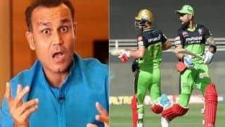 IPL 2020: Virender Sehwag Trolls Virat Kohli, AB De Villiers For Slow Strike-Rate Against Chennai | WATCH