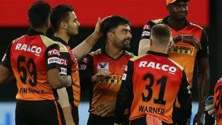 IPL 2020 Updated Points Table After SRH vs DC Match 47 Dubai: Hyderabad Stay in Playoffs Race; KL rahul, Kagiso Rabada Retain Orange, Purple Cap Respectively