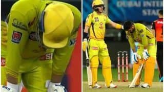 IPL 2020, CSK vs SRH: MS Dhoni Explains Why he Was Coughing, Struggling in Last Two Overs at Dubai