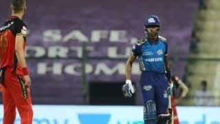 IPL 2020, MI vs RCB: Hardik Pandya, Chris Morris Reprimanded For Verbal Exchange in Abu Dhabi