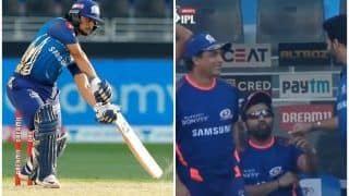 IPL 2020, DC vs MI: Rohit Sharma's Reaction After Ishan Kishan's Winning Six in Dubai is Unmissable | WATCH VIDEO