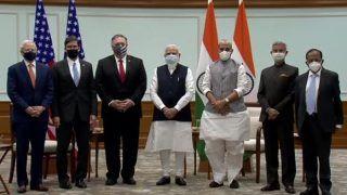 चीन के साथ जारी तनाव के बीच भारत-अमेरिका ने महत्वपूर्ण रक्षा समझौते पर दस्तखत किए